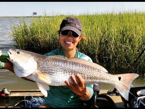 Windy Day Redfish | Kayak Fishing Moses Lake - YouTube