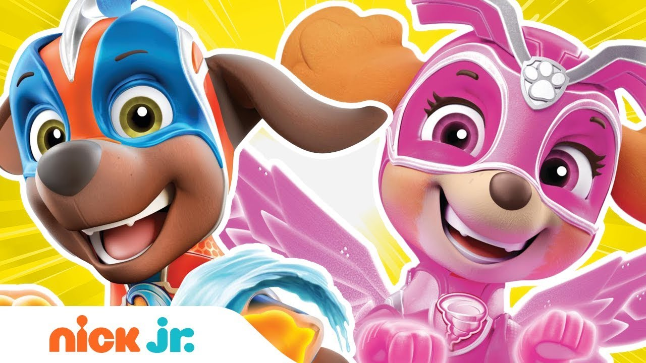 Download PAW Patrol Mighty Pups Charged Up ⚡ Ep. #4 🐶 Nick Jr.
