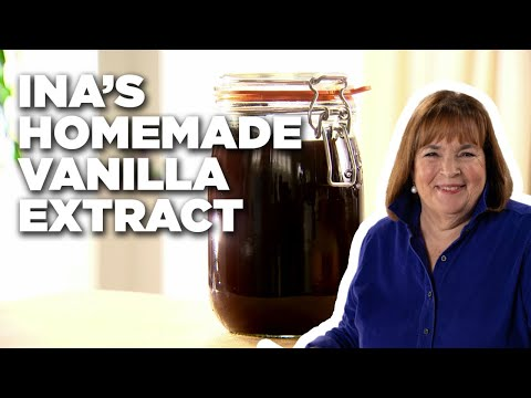 How to Make Ina's Homemade Vanilla Extract | Food Network