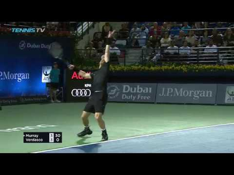 Dubai Final Hot Shot: Andy Murray