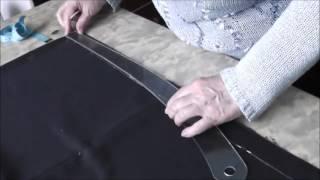 Шитье прямой юбки. Урок 4. Выравнивание низа юбки и линии талии