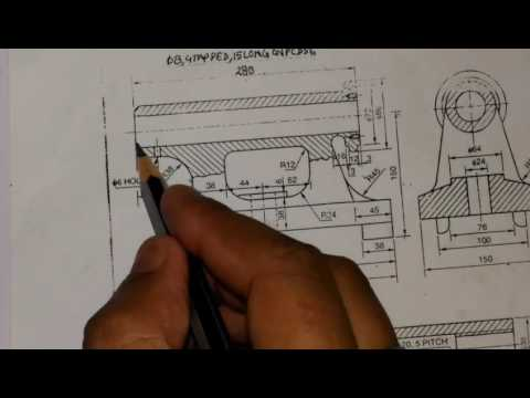 Tail stock assembly drawing,part-1,md, online education