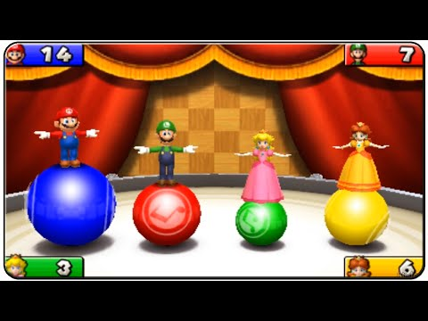 Mario Party Island Tour All Minigames
