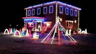 Christmas House lights that Dance 2008