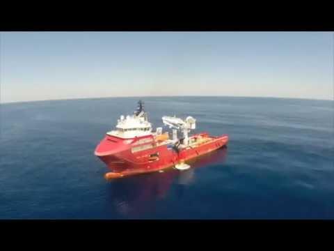 amatuer UAV flyaround of the vessel