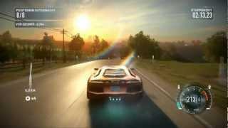NFS The Run Gameplay - Lamborghini Aventador