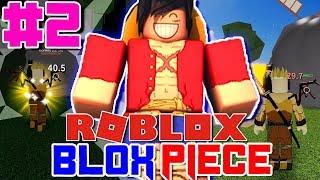 ¡MI PRIMERA FRUTA DEVIL! ¡Hora de ser OP! Roblox: Blox Piece (One Piece) - Episodio 2