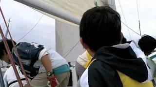 20111002「夢の島マリンフェスティバル」親子体験レース/ボーンフリー...