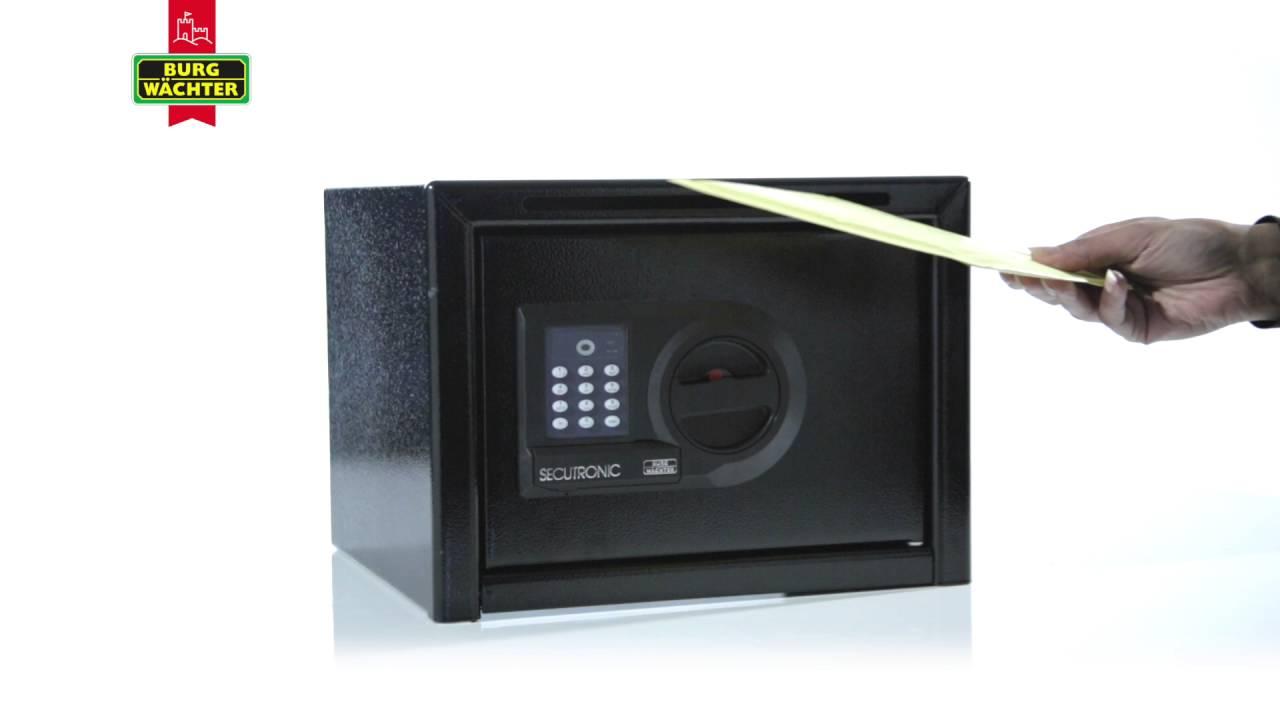burg w chter homesafe freestanding safe youtube. Black Bedroom Furniture Sets. Home Design Ideas