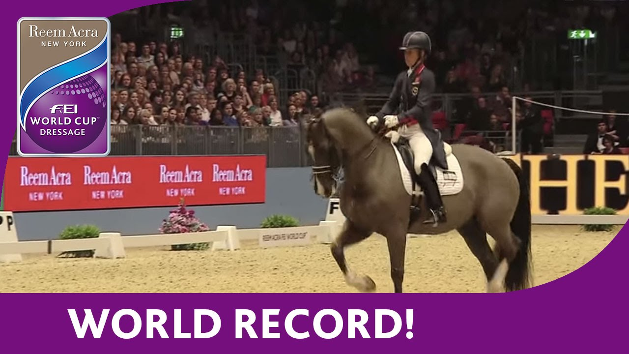 Download Charlotte Dujardin's World Record Breaking Freestyle test at London Olympia