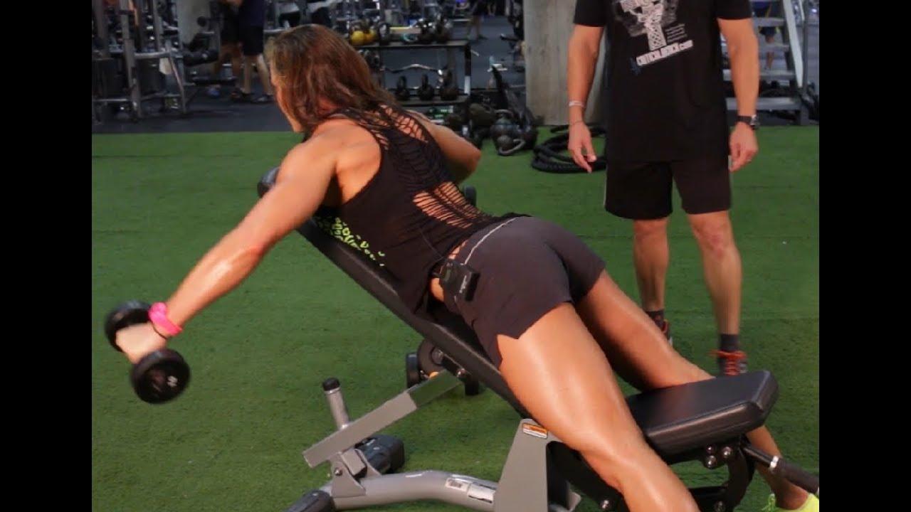 Erin Stern Shoulder Workout for Rear Delts - YouTube