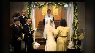 Wedding at West Point Jewish Chapel