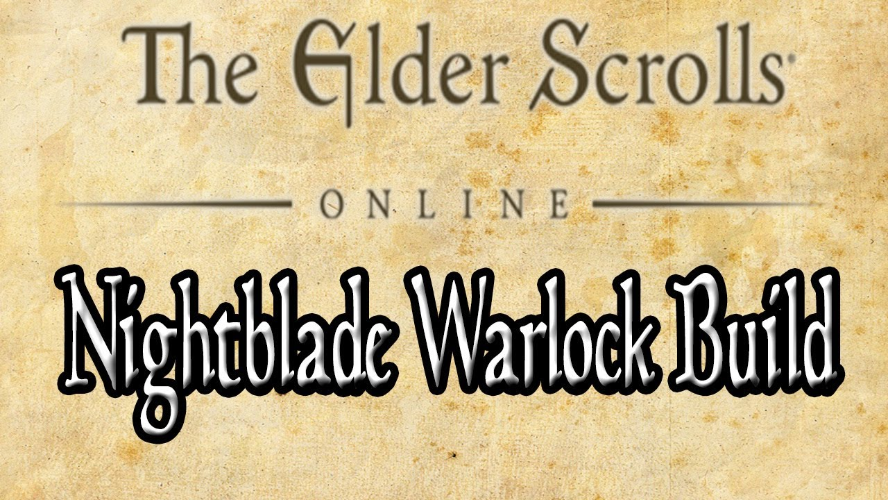 Eso Nightblade Warlock Build