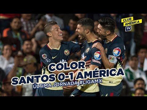 Color: Santos Vs América - Última jornada