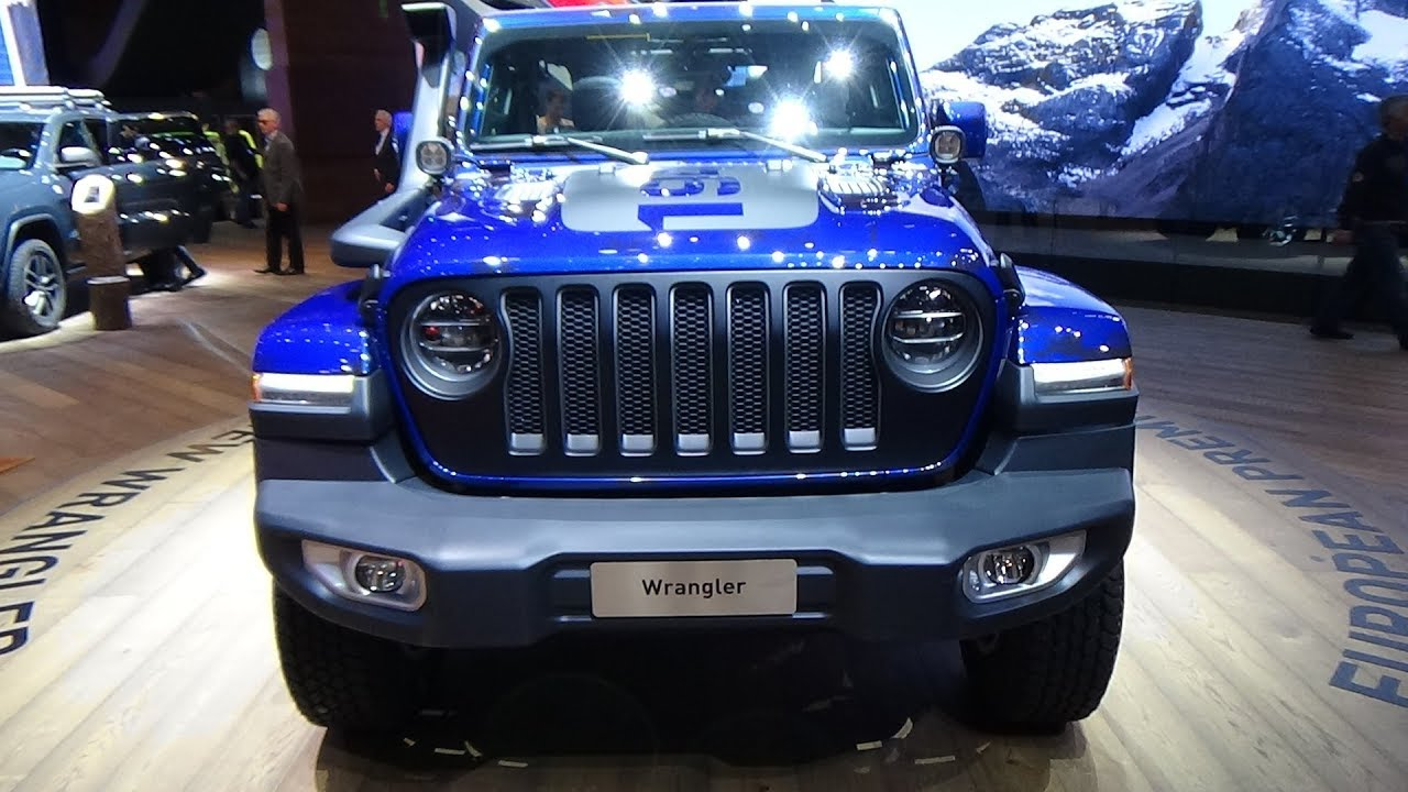 Jeep Wrangler Renegade >> 2019 Jeep Wrangler Sahara Unlimited Mopar - Exterior and Interior - Geneva Motor Show 2018 - YouTube