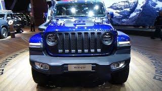 2019 Jeep Wrangler Sahara Unlimited Mopar - Exterior and Interior - Geneva Motor Show 2018