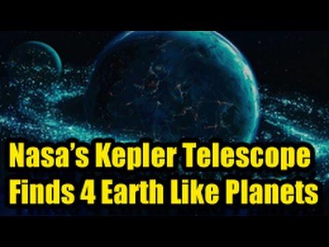 Nasa S Kepler Telescope Discovers 4 Earth Like Planets