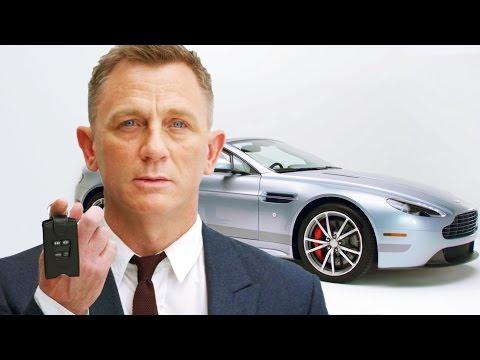 Let Daniel Craig's Custom Aston Martin Be Yours // Omaze
