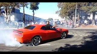 How to leave a Car Show (Burnouts, Donuts, drifts) 1080pHD
