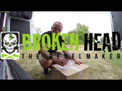 StuntChris | Yamaha R6 Stunt | Mein neuer Sponsor | Broken Head |
