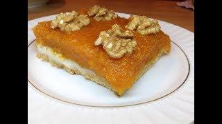 Bal Kabaklı Pasta -Tatlı Tarifleri