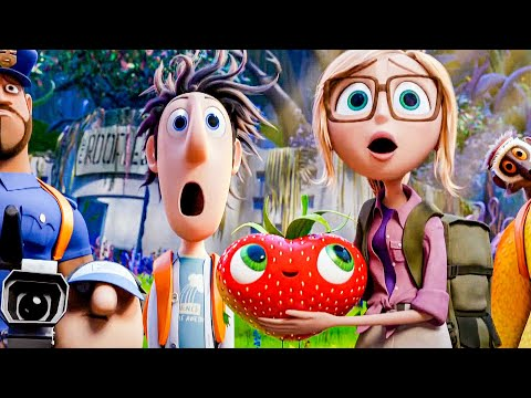 CLOUDY WITH A CHANCE OF MEATBALLS 2 All Movie Clips (2013)