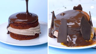 Yummy Melted Chocolate Cake