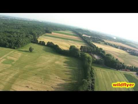 Allianz Arena - RC flying near Munich with onboard cam HD 1080p