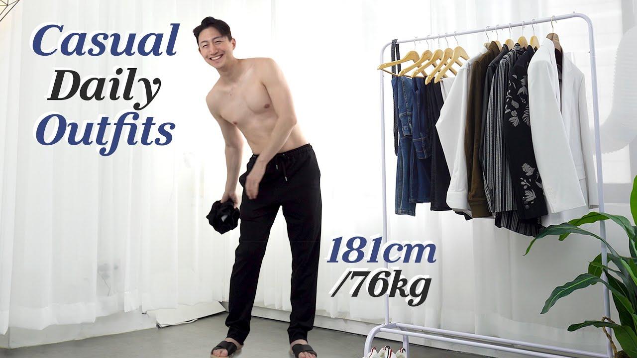6 Minimal Men's Fashion You Can Wear Everyday l 절대 실패하지 않는 6가지 무채색 코디 Lookbook l  미니멀룩, 캐주얼룩, 데일리룩