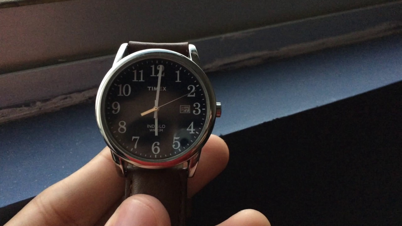 3e9d4d3bb1c5 Review  Reloj Timex - YouTube