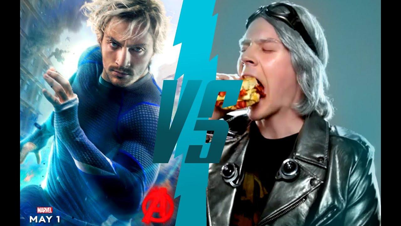 quicksilver vs quicksilver avengers vs xmen youtube