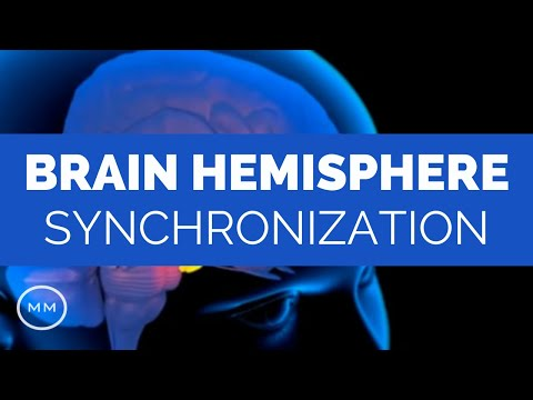 Brain Hemisphere Synchronization - Activate The Entire Brain - 9 Hz Binaural Beats