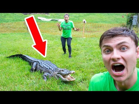 THE POND MONSTER ATTACKED ME!!