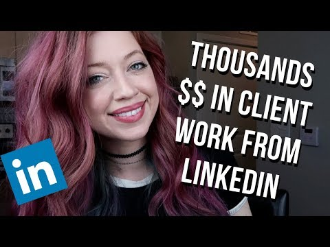 LinkedIn for Freelance Writers: Exactly How to Land High-paying Clients