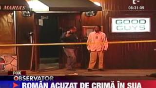 Roman acuzat de crima in SUA 23 IANUARIE 2012
