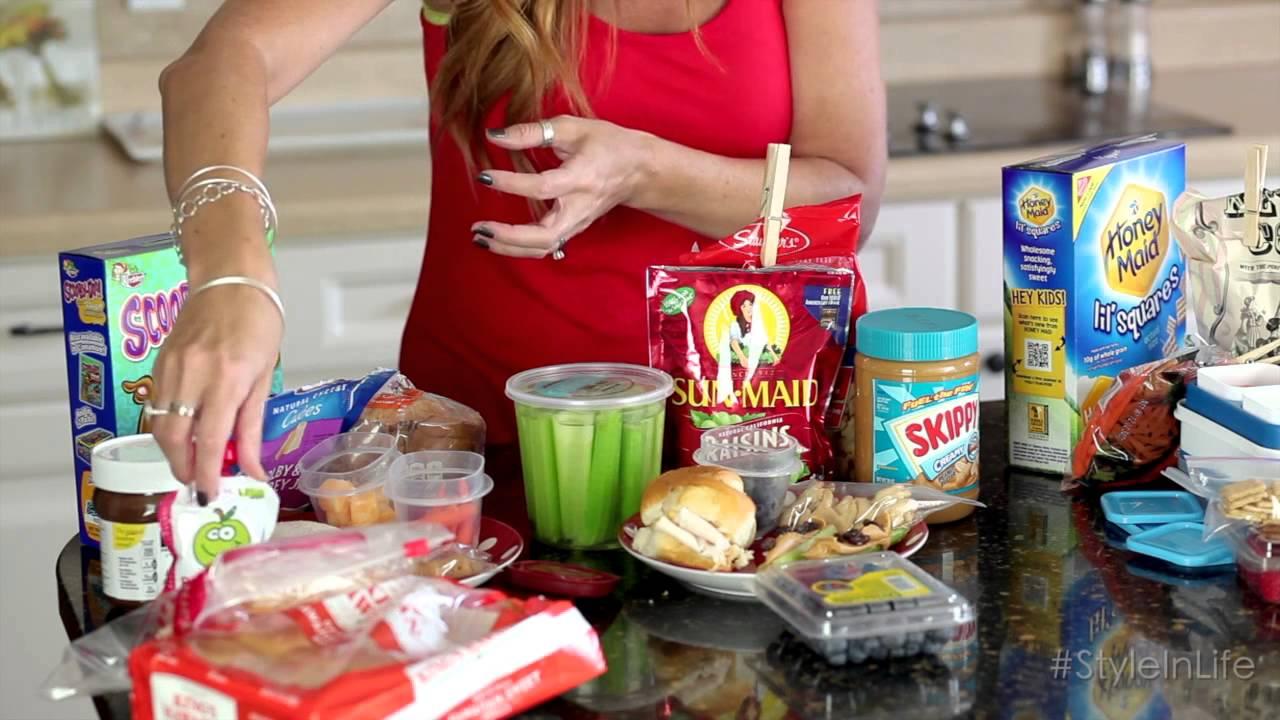Back to school quick and easy school lunches youtube forumfinder Choice Image