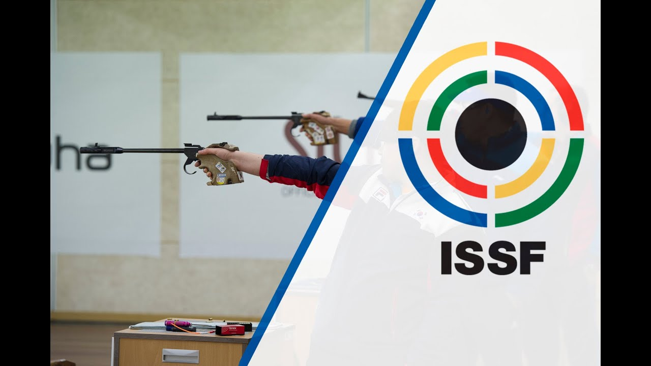 men's 50m pistol in issf world cup