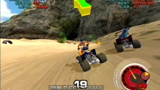 ATV Quad Power Racing 2 Nintendo Gamecube Racing Games Arcade Gameplay