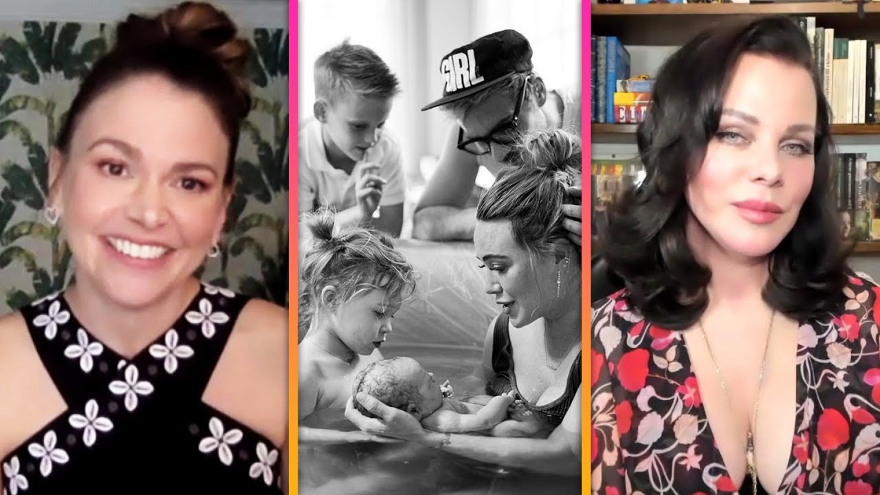 Download Younger Cast REACTS to Hilary Duff Giving Birth and Reveal How They Hid Her Baby Bump (Exclusive)