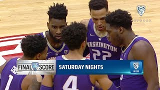 Highlights: Washington men's basketball slips past Washington State to sweep the Cougs for...