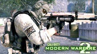 Call of Duty Modern Warfare 2: Takedown Mission Gameplay Veteran