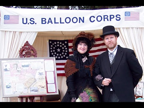 Thaddeus Lowe and the US Balloon Corps