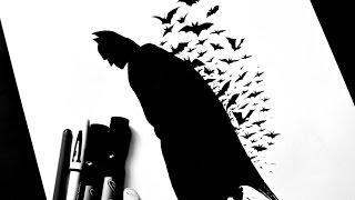 How to Draw Batman / Как нарисовать Бэтмэна / DA(Приветствую вам, дороги друзья! И с вами снова Dexter! И сегодня я покажу как нарисовать Бэтмэна (Batman). Это после..., 2014-09-23T14:25:38.000Z)