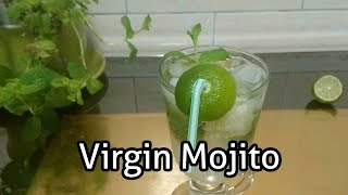 Virgin Mojito | How to make a mojito cocktail | Refreshing summer drink