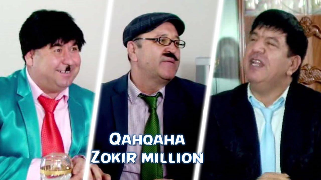 Qahqaha - Zokir million | Кахкаха - Зокир миллион (hajviy ko'rsatuv)
