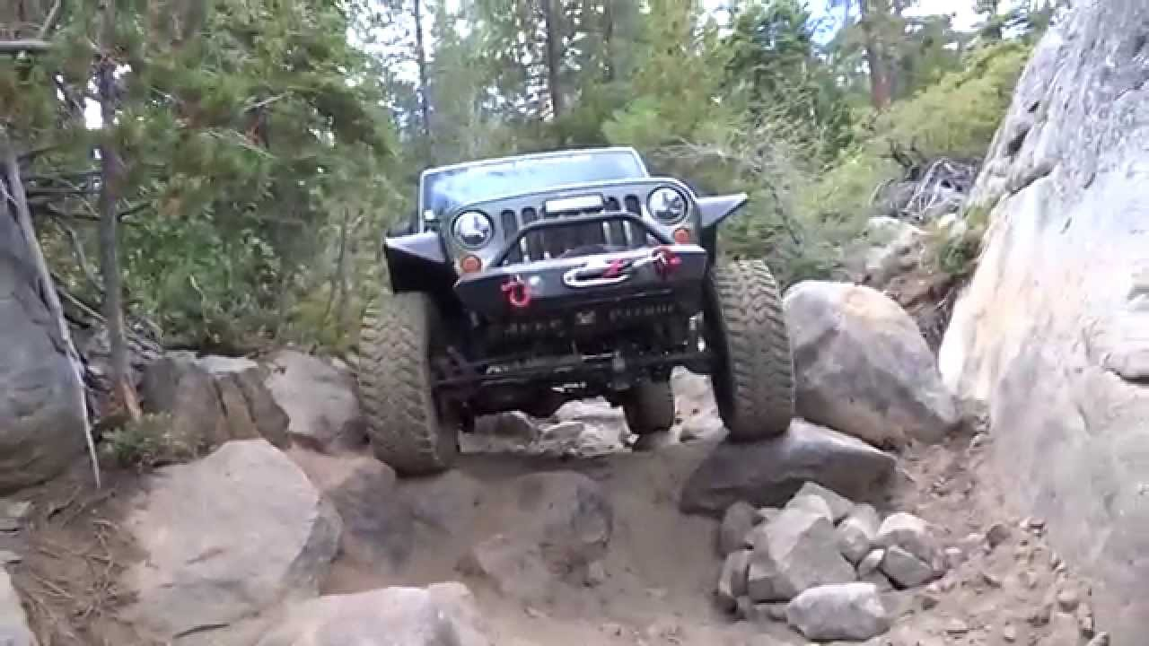 Jeep Trails Old Sluice Rubicon Trail Jeep Jk 4x4 Off Road Adventure