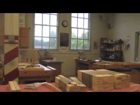 Port Townsend School Of Woodworking Tour The Shop Youtube
