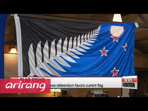 New Zealand to keep flag after expensive referendum