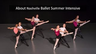 Nashville Ballet Summer Intensive Webinar 2018