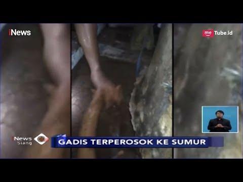 Lantai Kamar Mandi Ambles, Gadis di Mampang Terperosok ke Sumur 12 Meter - iNews Siang 05/03
